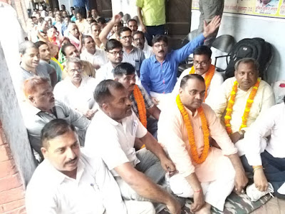 Teachers Hunger Strike Supported By Teachers Union Uttar Pradesh