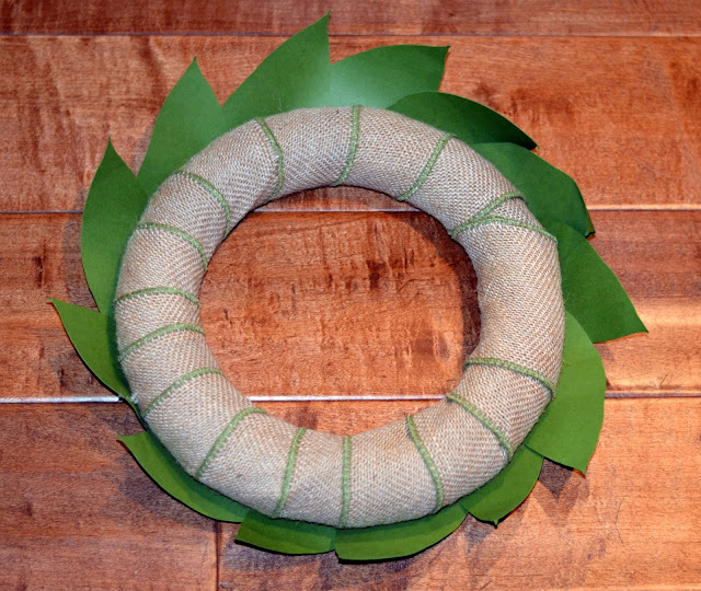 how to make a paper magnolia wreath