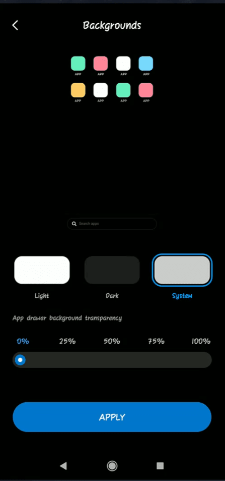 How To Enable App Drawer - MIUI 11 System Launcher - All Xiaomi Devices - Home Screen App Drawer - App Drawer Addional Settings App Background - Cursed Brains