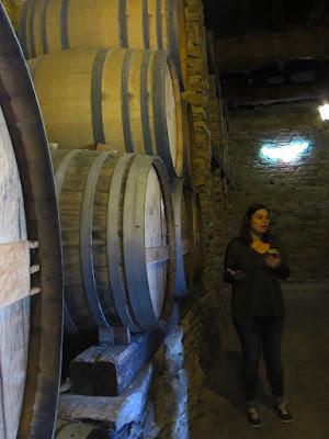 explicações sobre o armazenamento dos vinhos do Porto