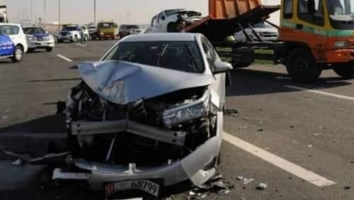إصابة 5 أشخاص في حادث تصادم بقرية المحامدة القبلية في سوهاج