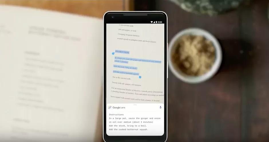 Google Lens le permitirá copiar texto escrito a mano y transferirlo a su computadora