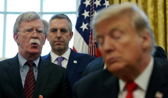 EEUU: investigan si el ex asesor de seguridad nacional Bolton reveló datos confidenciales