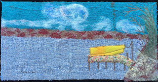52 Ways to Look at the River, week 20 panel, by Sue Reno