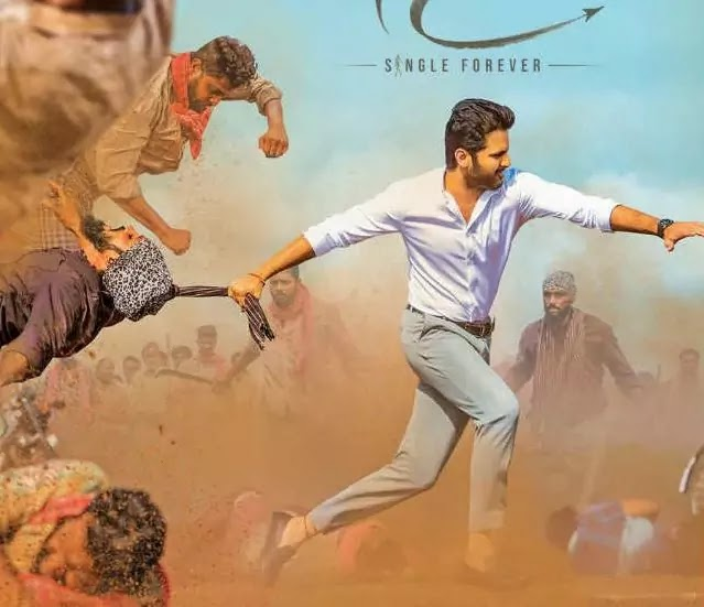Bheeshma Movie First Look Poster Unveiled Starring Nithiin Rashmika