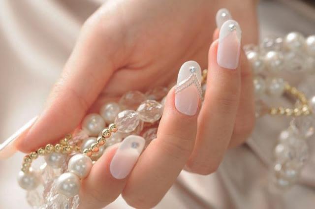 uñas de novias imagenes