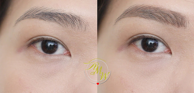 a photo of How To Use Make Up For Ever's Brow Liner, Brow Gel + Brow Pencil