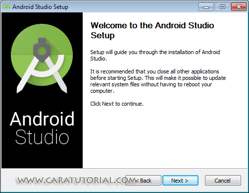 Welcome to Android Studio Setup