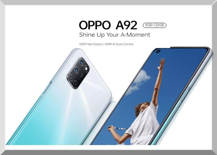 Spesifikasi fitur harga OPPO A92