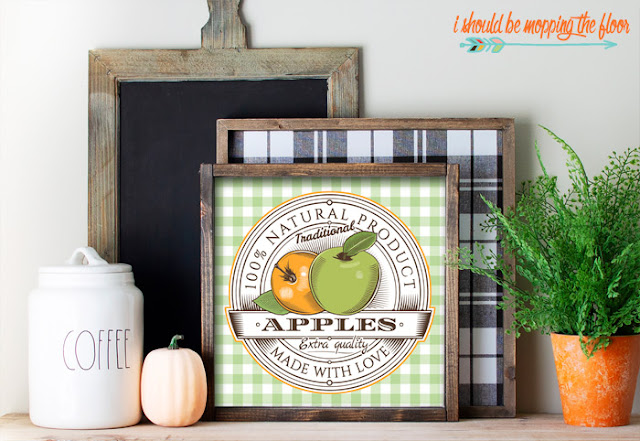 Apple Crate Printable