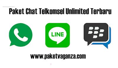 Cara Daftar Paket Chat Telkomsel Unlimited Terbaru 2018