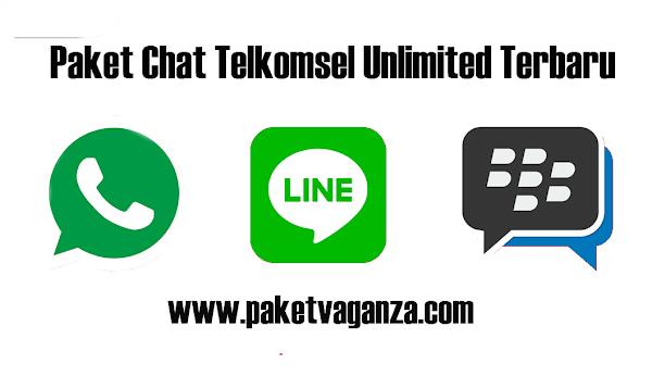 Cara Daftar Paket Chat Telkomsel Unlimited Terbaru 2019