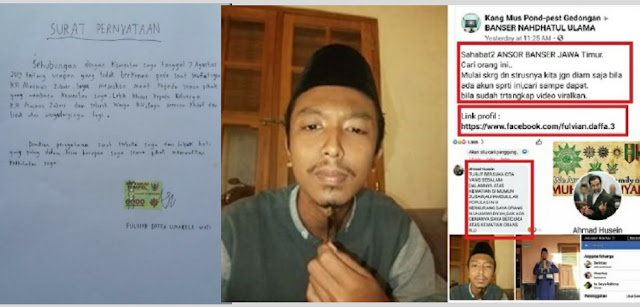 Pria Mengaku Kader Muhammadiyah Hina Mbah Moen Minta Maaf