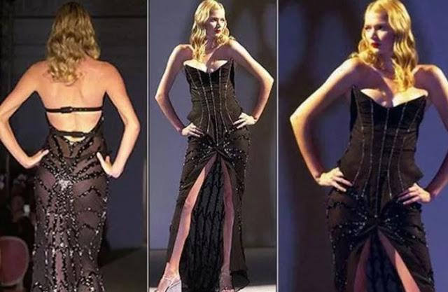 Marca britânica e seu vestido de $ 1,8 milhões