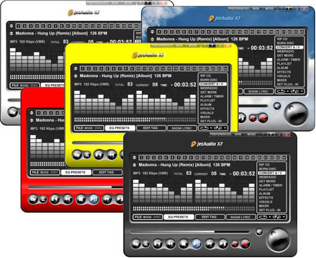 تحميل برنامج جيت اوديو للكمبيوتر - JetAudio Basic مجانا