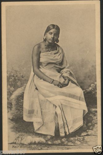 Studio Portrait of a Nair Woman