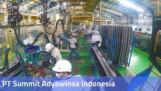 Lowongan Kerja PT Summit Adyawinsa Indonesia