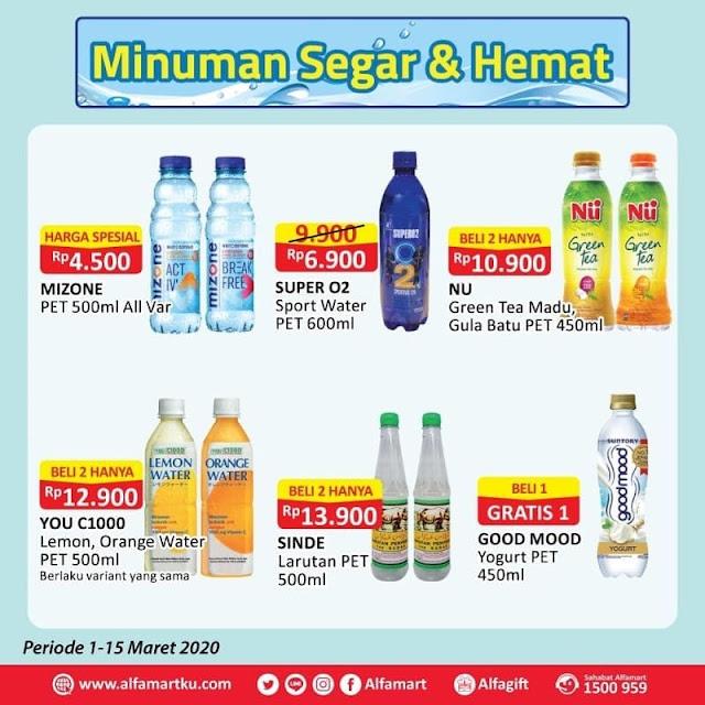 #Alfamart - #Promo Katalog inuman Segar Hemat Periode 01 - 03 Mar 2019