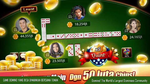 Game Domino yang Bisa Dimainkan Bersama Teman