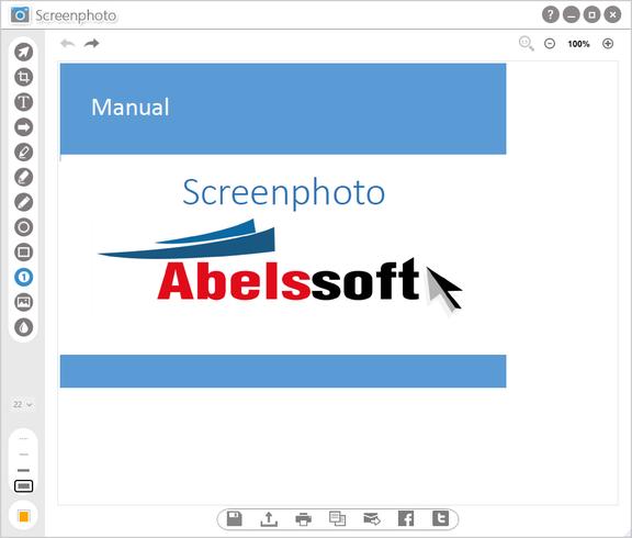 Screenshot Abelssoft Screenphoto Plus 2019 v4.12 Full Version