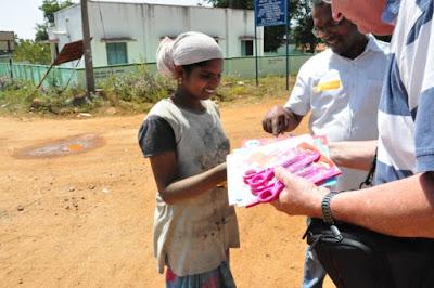 cadeaux enfants inde