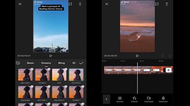 Cara Posting Video di Capcut