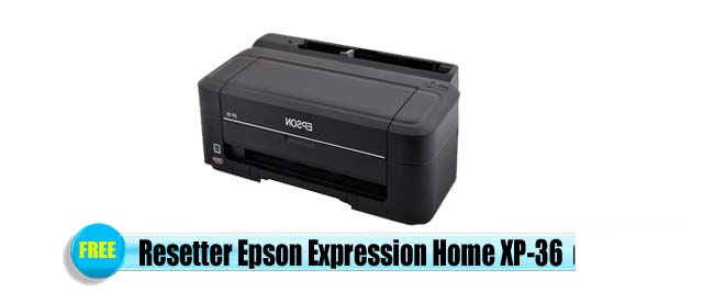 Epson Expression Home XP-36 Adjustment Program