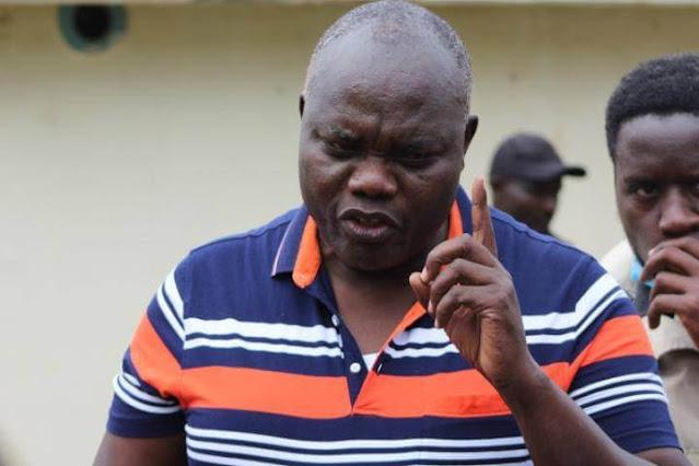 Former ODM County branch chair Samuel Omwando