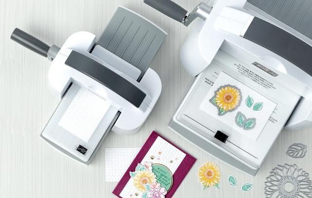 Mini Stampin cut emboss machine