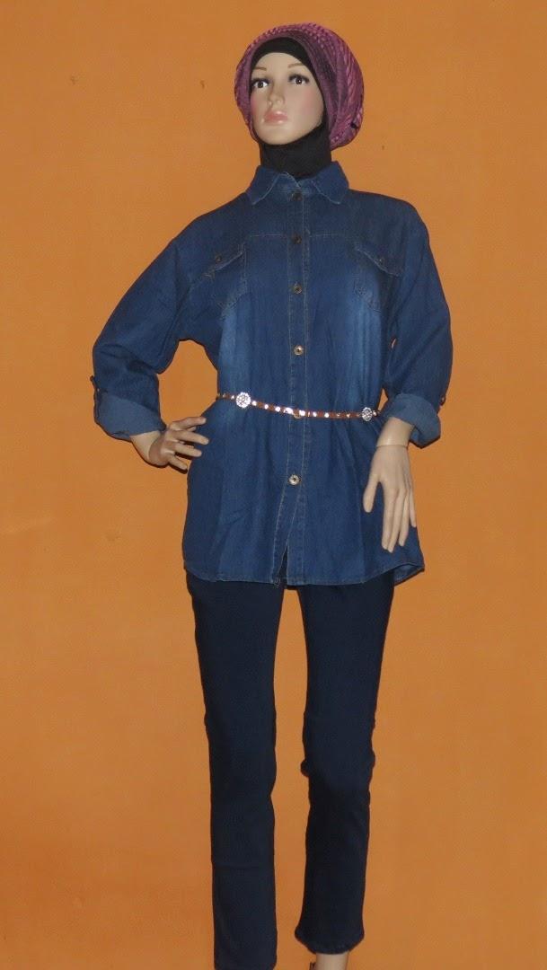 Blouse Fashion Ukuran Jeans Super Besar AJ941