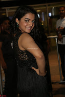 Wamiqa Gabbi in a sleeveless Black Designer Transparent Gown at 64th Jio Filmfare Awards South ~  Exclusive 112.JPG