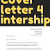 example of cover letter for internship doc word