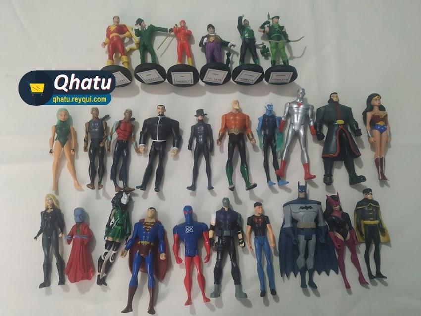 Figuras de DC Comics: Articuladas y estáticas