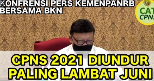jadwal cpns 2021 diundur