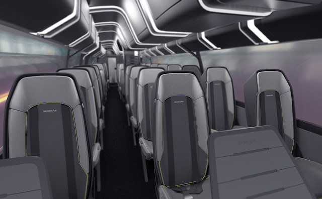 Neoplan Aero 24-7, Bus Masa Depan Tanpa Pengemudi