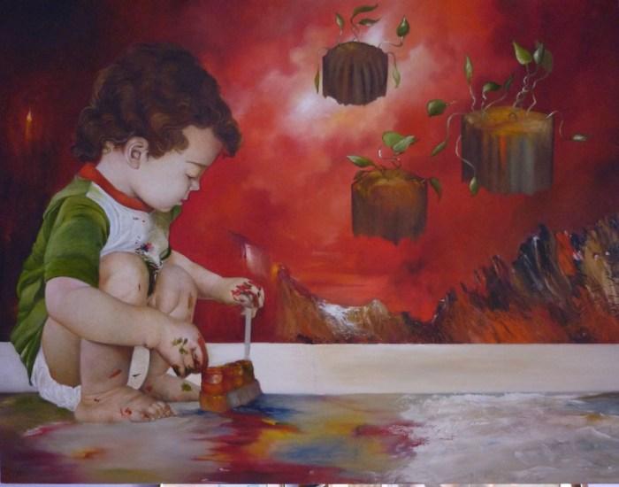 Перуанский художник.