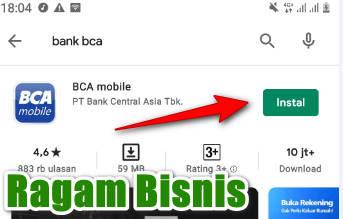 Cara Download Bca Di Play Store