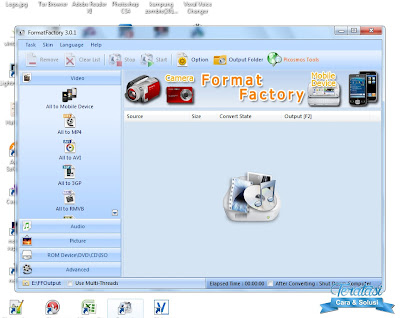 Format Factory - Konverter Multifungsi (All in One) Video Audio Gambar Dalam Satu Aplikasi Terbaik - Teratasi.com