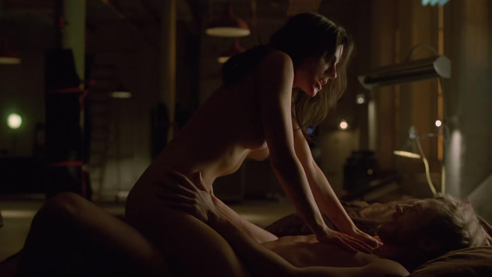 Anna silk and erin karpluk nude lesbo scene in being erica