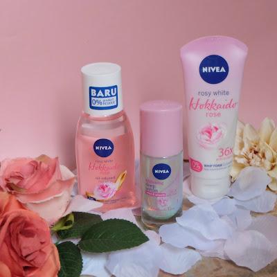 Review Nivea Hokkaido Rose Series
