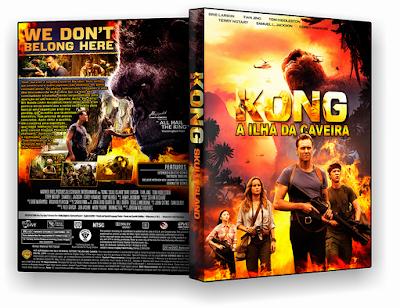 Resultado de imagem para kong a ilha da caveira capa dvd
