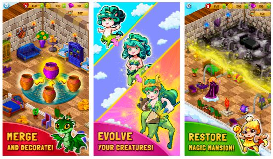 Merlin and Merge Mansion Mod Apk