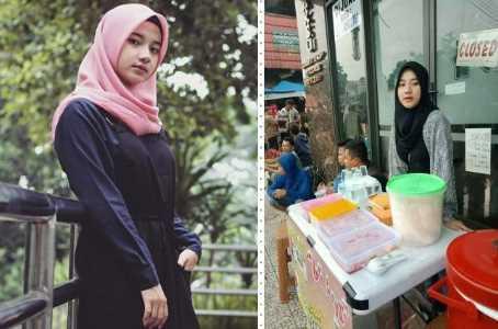 Penjual Nasi Uduk Cantik di Bogor Mendadak Viral di Medsos
