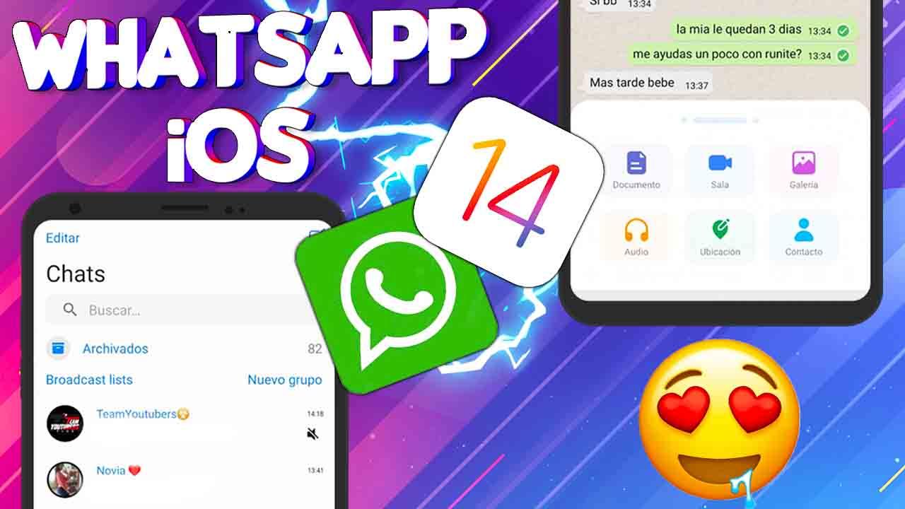 Whatsapp Estilo iOS