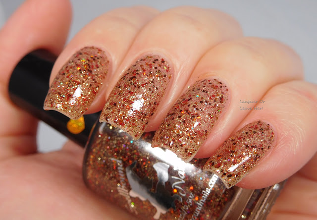 Spellbound Nails Gingerbread Latte