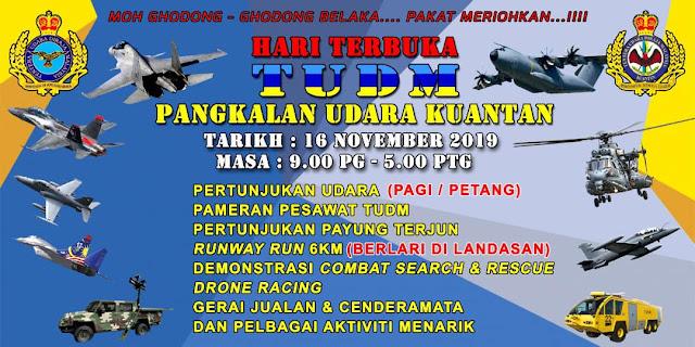 Hari Terbuka TUDM Kuantan Pahang 2019