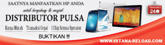 Sistem Bonus Marketing Agen Pulsa Istana Reload