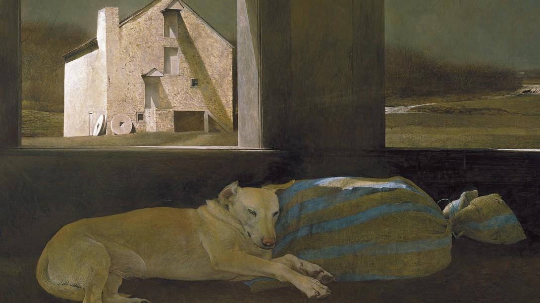 Andrew Wyeth Durmiente nocturno