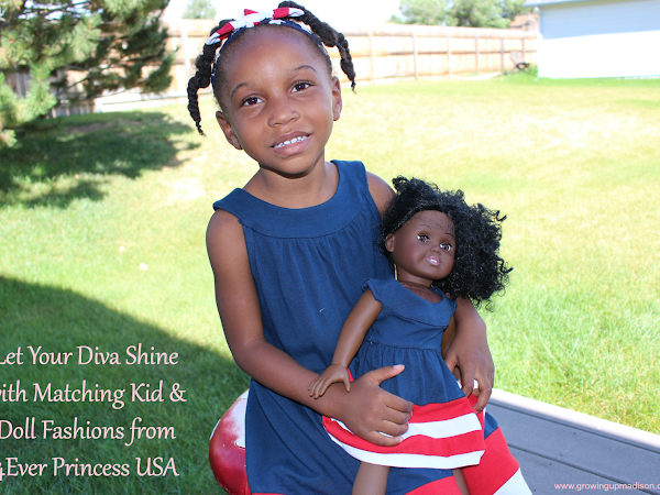 Let Your Diva Shine with Matching Kid & Doll Fashions from 4EverPrincess USA