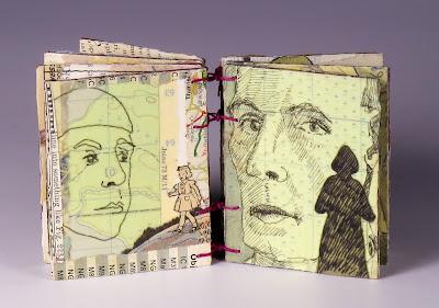 Seen and Seen artist book by Judith Hoffman